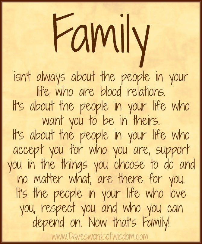 Quotes about Friends And Family (465 quotes)