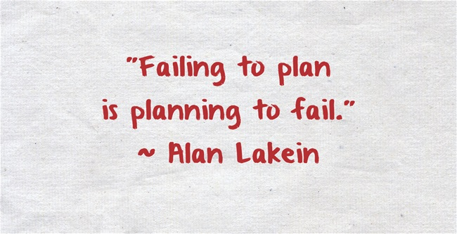 planning to fail is failing to plan essay Why manager's strategic plans fail essay one of biggest general management problems is failing to implement a strategic business plan.