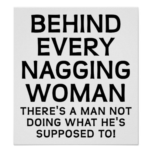 quotes about nagging woman