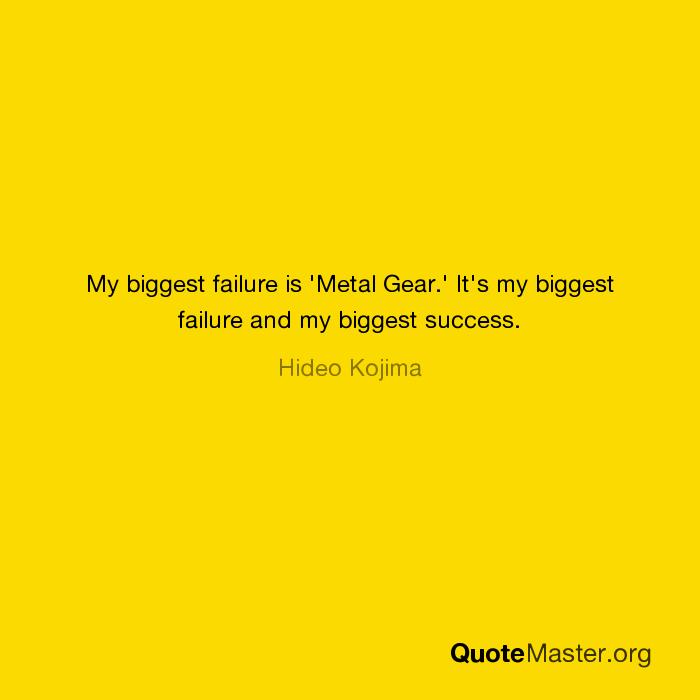 biggest failure