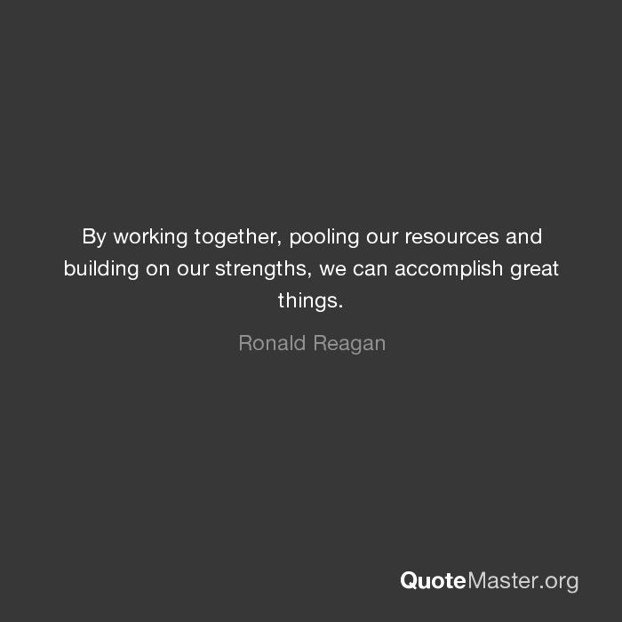 Image result for working together, using our strengths
