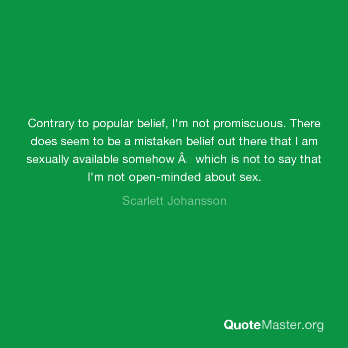 what does promiscuous