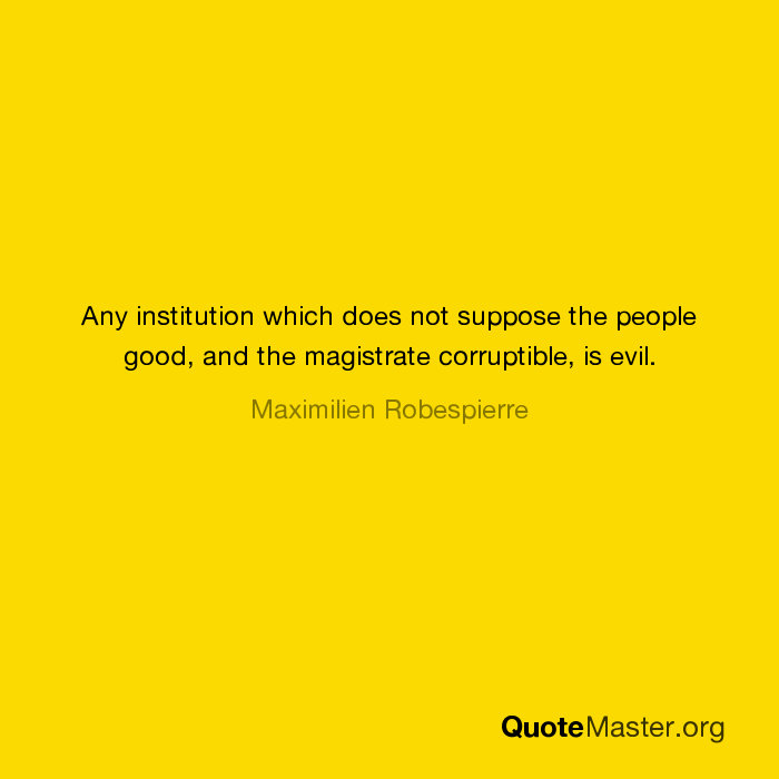 Corruptible People