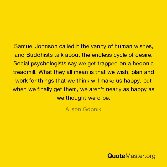 essay human johnson samuel vanity wish