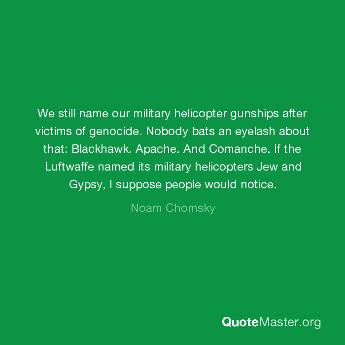 We Still Name Our Military Helicopter Gunships After Victims Of