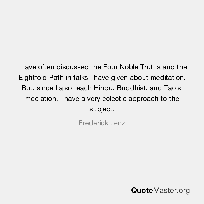 hinduism 4 noble truths