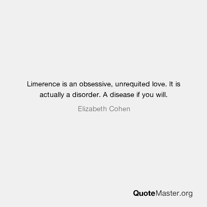 Love limerence vs Is It