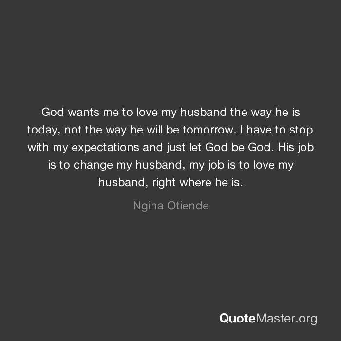 Get wants better my me job to a husband Husband wants