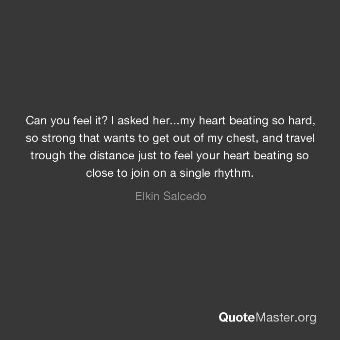 Why Can I Feel My Heart Beating So Hard
