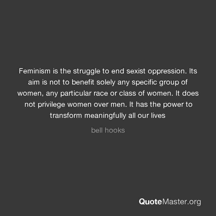 Sexist oppression