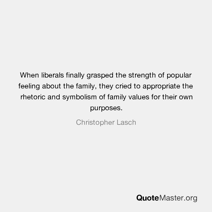 When Liberals Finally Grasped The Strength Of Popular Feeling About