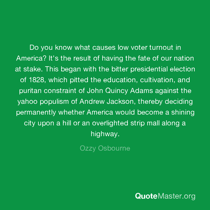causes of low voter turnout