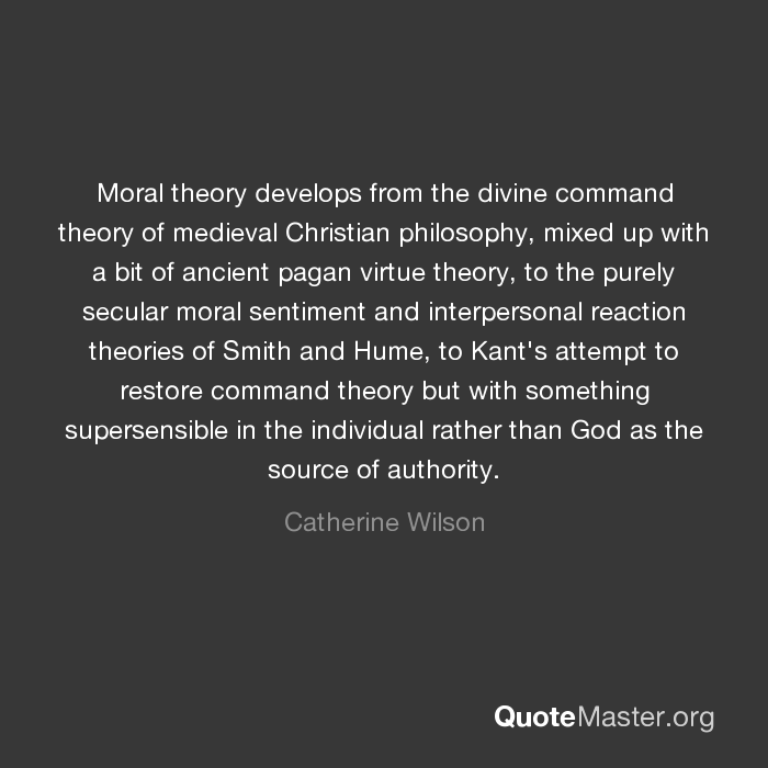 socrates shattering of the moral concept of divine command theory It is certainly not the least charm of a theory that it beyond good and evil, with which to divine and determine what sort of history the problem.