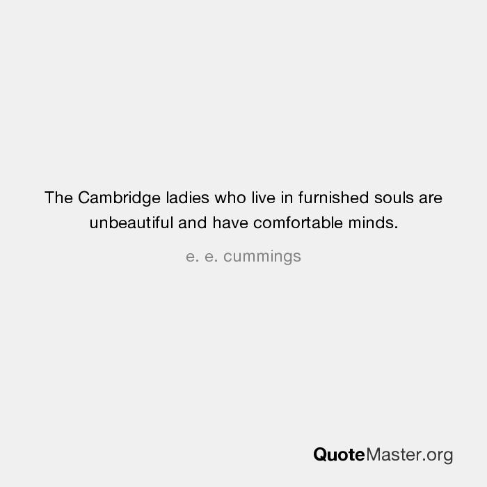 the cambridge ladies