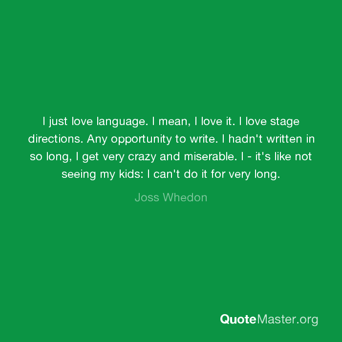what does love language mean