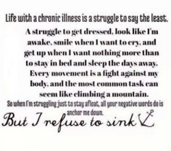 Quotes about Chronic illness (44 quotes)