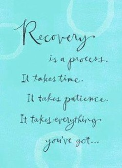 Quotes about Early recovery (28 quotes)