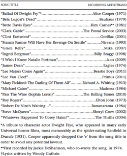 Song Titles In Quotes Quotes about Song Titles (25 quotes) Song Titles In Quotes