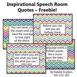 Quotes about Speech therapy (60 quotes)