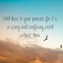 Quotes about Loss of both parents (12 quotes)