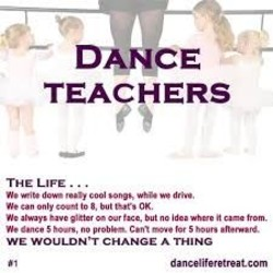 Quotes about Teaching dance (29 quotes)