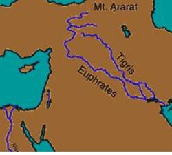 the relationship between rivers and peoples concentration in the case of the tigris euphrates river