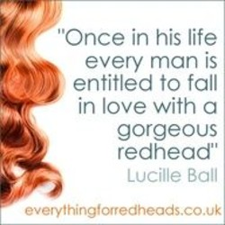 dating a redhead quotes