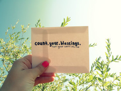 coun+. your. blessings.