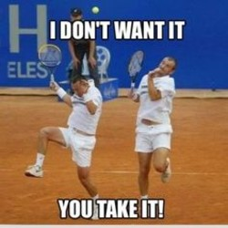 Quotes about Tennis funny (10 quotes)