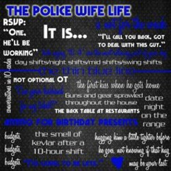 Cons of dating a cop