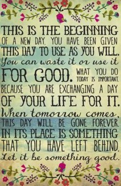 Quotes About This New Day 58 Quotes