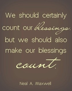 We should certainly