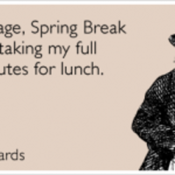 Quotes about Spring Break (33 quotes)